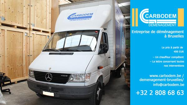 Professionnel du déménagement à  Bruxelles  CARBODEM - Déménageur Bruxelles +32 2 808 68 63