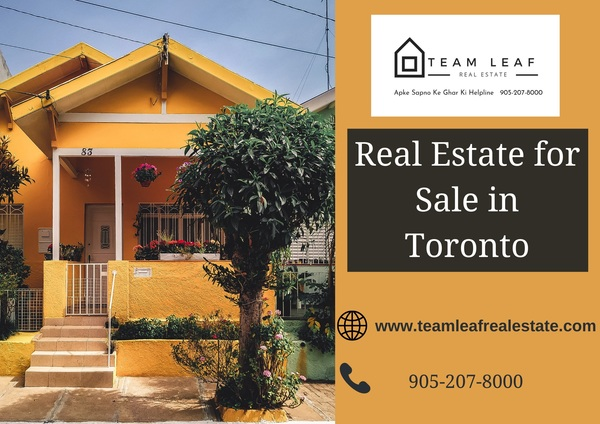 Searching for real estate for Sale in Toronto?