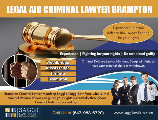 Legal Aid Criminal Lawyer Brampton
