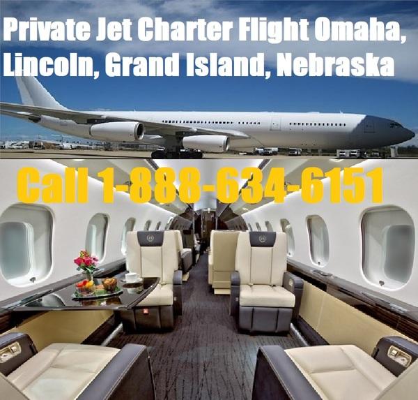 Private Plane Jet Charter Flight Service Omaha, Grand Island, Lincoln, Bellevue Nebraska