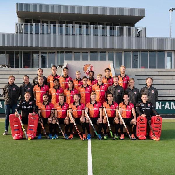 Team💪 2017-2018 @hcoranjerood @abnamronl @reece_australia @tk_hockey #onwards