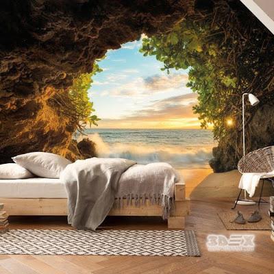 +30 Stylish 3D wallpaper murals for living room walls
