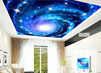 What is 3D false ceiling?