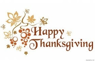 Happy Thanksgiving to my US family,  friends AND Happy Birthday to ME