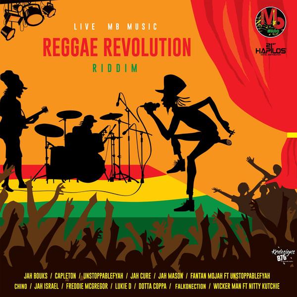 REGGAE REVOLUTION RIDDIM - JAH CURE, CAPLETON, JAH BOUKS, FREDDIE MCGREGOR #ITUNES 1/4/19 #PREORDER 11/30/18 @livembmusic