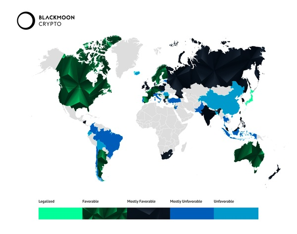 Cryptocurrency regulation worldwide