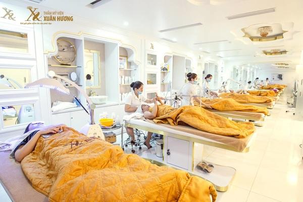 Ứng dụng công nghệ làm đẹp tại thẩm mỹ viện Xuân Hương