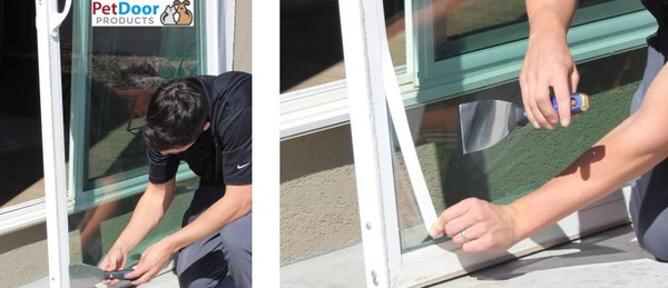 We manufacture our Pet Doors with the #DIY customer in mind. The door is designed for a simple and smooth install into your existing sliding glass door. We provide clear measurement and installation instructions as well as prompt customer support. http://bit.ly/2HnAy5p