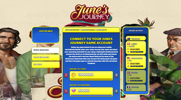 Junes Journey Hack Cheat Online Generator Coins and Diamonds Unlimited