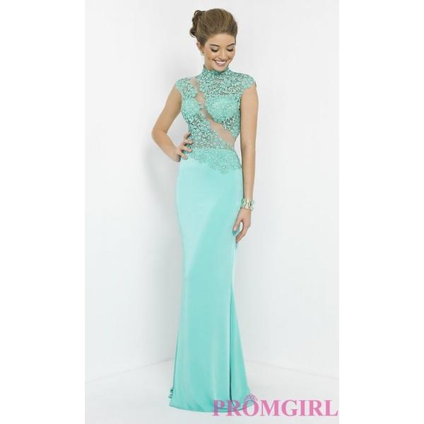 Blush Floor Length Prom Dress - Brand Prom Dresses|Beaded Evening Dresses|Unique Dresses For You
