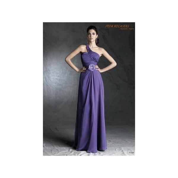 Vestido de fiesta de Pepa Recasens Modelo F13328 - Tienda nupcial con estilo del cordón