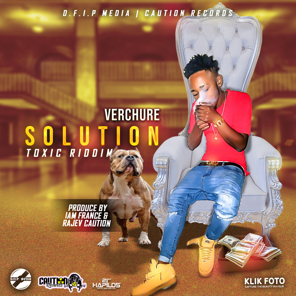 VERCHURE - SOLUTION - SINGLE #ITUNES 5/21/18