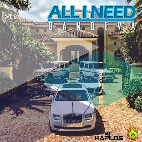 DANDEVA - ALL I NEED - SINGLE #ITUNES 2/16/2018