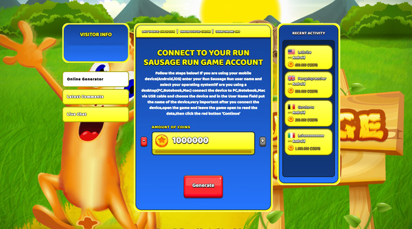 Run Sausage Run Hack Cheat Generator Coins Unlimited
